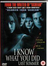 I Know What You Did Last Summer DVD 1999 Love Hewitt Sarah Michelle Gellar