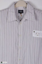 G-STAR UOMO MANICA LUNGA REGULAR Camicia casual bianca taglia L a righe