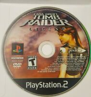 Lara Croft: Tomb Raider Legend PS2 Disc Only Tested Sony Playstation 2 Ps2 Game