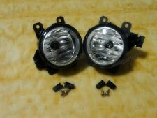 1Pair Front Fog Spot Light Lamps For Mitsubishi Pajero NS NT NW 2006-2014