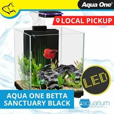 Aqua One Betta Sanctuary 10L Aquarium Fish - Black