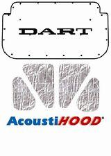 1965 1966 Dodge Dart Under Hood Cover with MA-015 Dodge Dart