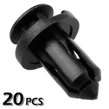 20x Nylon Front Bumper Cover Trim Clips Rivet Retainer for Infiniti EX35 EX37