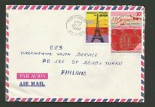 Benin Airmail Cover To Finland