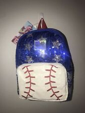Jojo siwa mini backpack Baseball Nwt Sequin