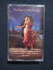 Italian Love Songs [Audio Cassette] Martin; Francis; Williams; Goulet; Martino..