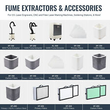 Omtech Xf180xf250xl300 Fume Extractors With Filter Sets For Laser Engraving Ampc