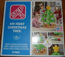 Step2 My First Christmas Tree with Ornament Accessories NEW OPEN BOX