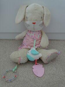 Mothercare Rabbit Activity/Comforter Toy