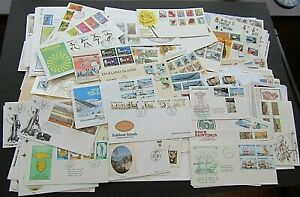 BRITISH COMMONWEALTH - SUBSTANTIAL COLLECTION OF 300+ 1st DAY COVERS - FINE