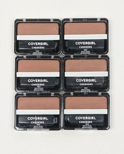 CoverGirl Cheekers Blush 180 Brick Rose Lot of 6 SEALED NEW Exp 4/2022 - 10/2022