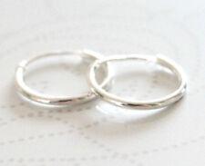925 Sterling silver sleeper earrings 10mm