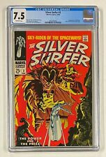 SILVER SURFER #3 Marvel Comics 1968 CGC 7.5 Mephisto 1st Appearance