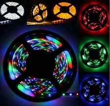 Car Boat Accent Light WaterProof RGB LED Lighting Strip SMD 3528 300 LEDs16 ft