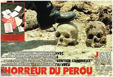 Coupure de presse Clipping 1988 (11 pages) Le Sentier Lumineux du Pérou