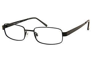 Minimax 100 Mens Metal Rectangular Glasses Incl Prescription Lenses 51-19-138