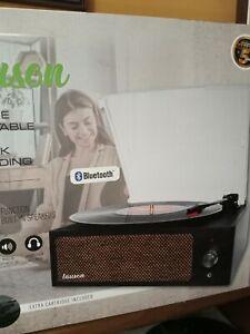 TOCADISCOS CON GRABACION MP3 Y BLUETOOH