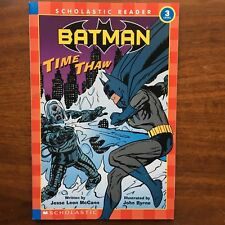 DC Comics Batman Level 3 Scholastic Reader Book Mr. Freeze New AS IS