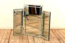 Modern Dressing Table Mirror Clear Venetian Tri-Fold Triple mirror-77cmx54cm
