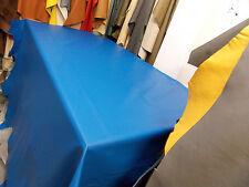 Italian Full Leather Hide Colour Bright Electric Blue 2029 Super Soft