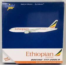 GeminiJets GJETH1019 Ethiopian Boeing 777-200LR 'ET-ANN' 1/400 Scale Model