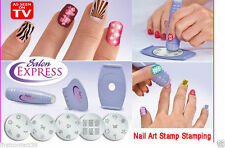 Salon Express Nails Art Stamping Decoration stocking filler Gift Xmas Christmas