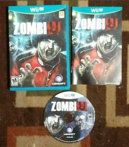 ZombiU Zombi U Complete (Nintendo Wii U, 2012) VG Shape & Tested