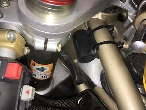 Ducati 748 916 996 998  Racing Lenkanschlag Gabelanschlag Gabel Schoner