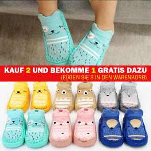 Baby Hausschuhe Socken Kinder Mädchen Jungen Kleinkind Anti-Rutsch Baumwolle
