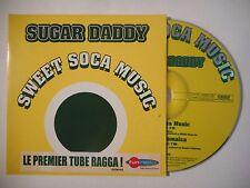 SUGAR DADDY : SWEET SOCA MUSIC ♦ CD SINGLE PORT GRATUIT ♦