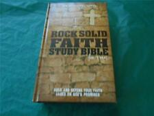 Rock Solid Faith Study Bible For Teens New International Version, 2012