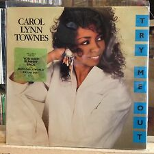[SOUL/FUNK/JAZZ]~NM LP~CAROL LYNN TOWNES~Try Me Out~{1988~POLYDOR Issue}~PROMO