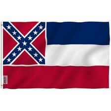 Anley Fly Breeze 3x5 Foot Mississippi State Polyester Flag Mississippi MS Flags
