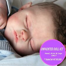 Reborn Doll Kit, vinyl baby doll kit- Sadie  unpainted kit to make your own doll