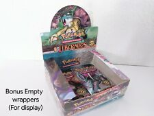 EMPTY Pokemon HeartGold SoulSilver Unleashed BoosterBox SPANISH wrappers psa?