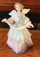 Lladro 9� Joyful Offering Angel Porcelain Tree Topper Figurine 6125 Gorgeous