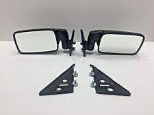 BMW E21 E12 Black Metal  Exterior Mirrors (Side Mirrors) left and right side (N