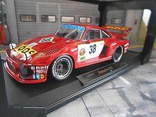 PORSCHE 935 Turbo Gelo Loos #38 Schenken Heyer Hezemans Le Mans 1977 Norev 1:18