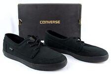 NIB CONVERSE Sea Star L/S OX Black/Black Skate Boat Shoes Men's 7.5 Women's 9