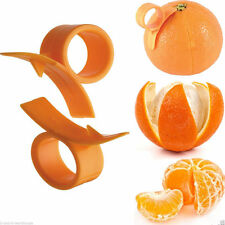 Piel de Naranja dedo celebrado Pelador De Cítricos Abridor de herramientas de cocina-toronja Limón Etc