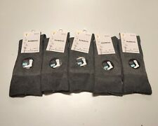 6 Pairs Mens Bamboo Socks Loose Top Foot Sport Socks Bamboo Yarn Size 7-11