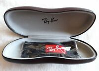 Ray ban Brand new Hard case Black with cleaning cloth