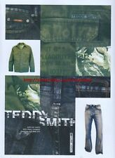 "Teddy Smith ""voyers, Conquest"" Clothing 2003 Magazine Advert #24"