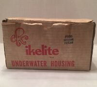 "Vintage Ikelite Underwater Camera Housing ""Keystone Package"" Orig Box & Instruc"