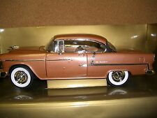 1/18 Peach State by ERTL 1955 copper tone chevy Bel Air