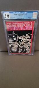 Teenage Mutant Ninja Turtles #1 5th printing CGC 8.0