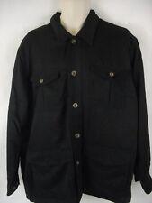 TravelSmith Jacket Mens Large Black Polyester