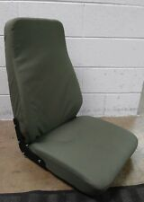 M998 HMMWV COMMANDER HIGH BACK SEAT GREEN 12446712-2 RIGHT HAND FRONT