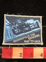 Vtg 1977 INDIANAPOLIS 500 REGIONAL IRP Car Racing Patch 03I