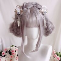 Women's Japanese Sakura Hairpin Kimono Yukata Bride Hair Clip Hair Accessories